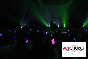 ACF Church Cell Phone Light Show